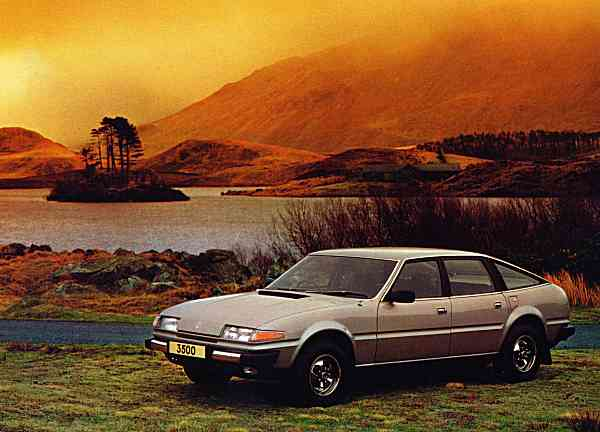 Rover SD1 from the launch brochure