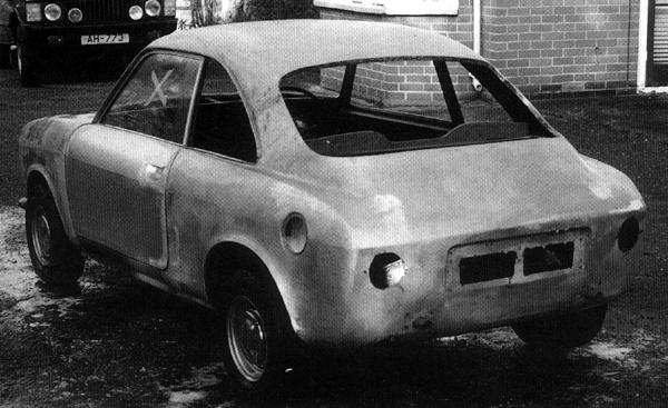 "This car (above), as featured in ""MG: The Untold Story"" by David Knowles, is believed to be a surviving example of ADO35, bearing as it does a strong resemblance to ADO34, along with the hallmarks of Pininfarina's involvement in its design and production. It is now undergoing restoration in the hands of an enthuisast."