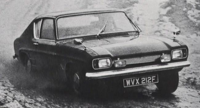 Ford Capri Final testing...