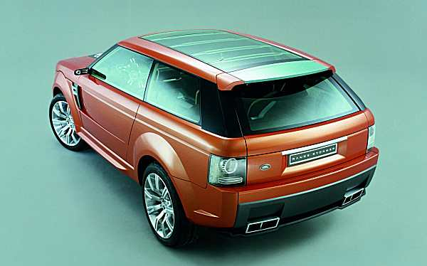 Richard Woolley's 2004 Range Stormer - the starting point for the Rang Rover Evoque
