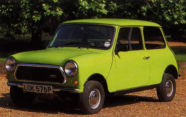 "Issigonis continued to work on Mini projects during his retirement, and one of his pet projects was the development of a gearless car. This is the so-called ""9X Gearless Mini"", which used the 9X ohc engine."