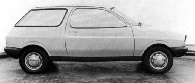 Classic Harris Mann – look at the side feature line, which plunged from high at the rear to lower at the front. This styling trick had already been used on the yet-to-be-launched ADO71 with some success.