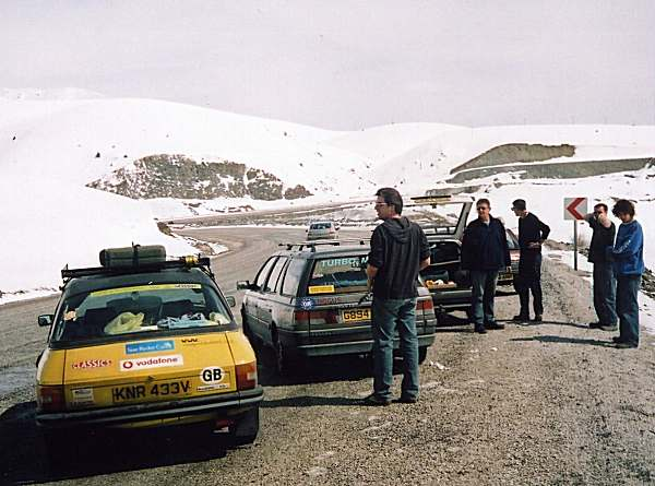 Eastern Turkey, with snowy passes through mountains, stunning scenery to drive through