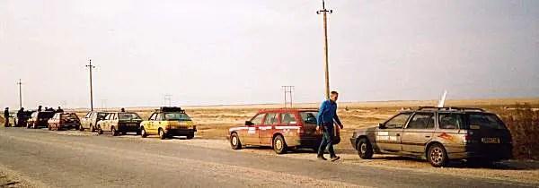 At the roadside in Turkmenistan, April 2nd
