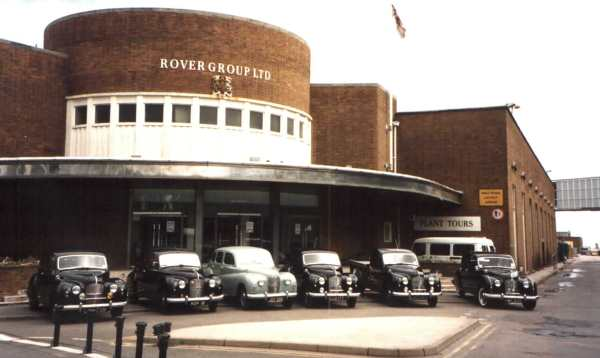 50th Anniversary of the A70 Hampshire - Longbridge Showroom, England. (Picture: www.austinworks.com)
