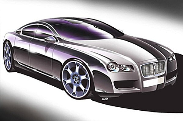 Aggressive wheels point to those on the upcoming XF-R model...