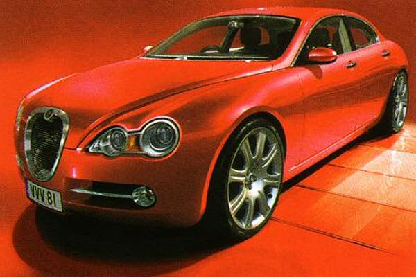 The S-TYPE proposal fully rendered... better than the XF?