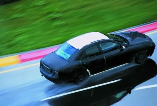 Jaguar X-Type testing