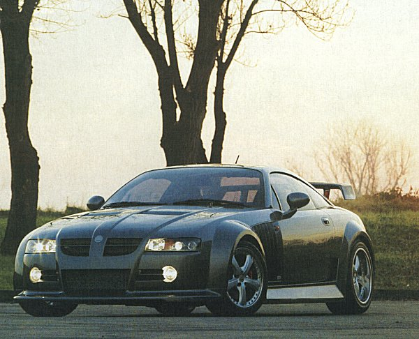 The cars : MG XPower SV development history