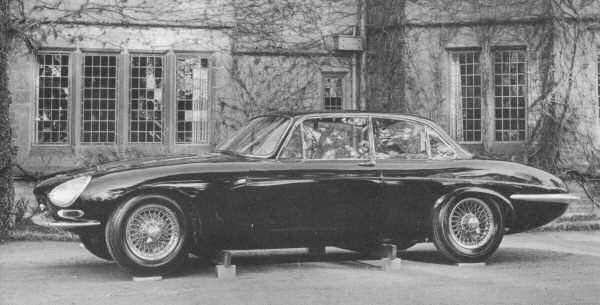 E-type saloon seemed like a great starting point.