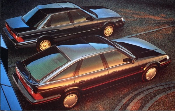 Rover 800 Fastback and saloons lined-up