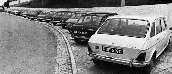 Maxis from at their launch at Estoril in 1969 - reading the contemporary newspaper reports are fascinating...