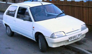 Citroen AX Diesel is great fun