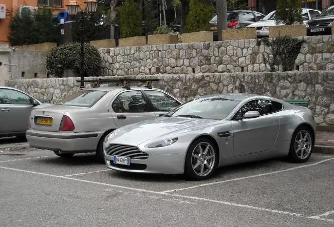 Newport Pagnell Capri spoils view of class...