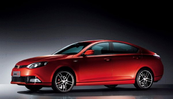 MG6 fastback shows clear MGR heritage