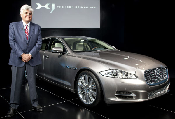 Jay Leno launched the new Jaguar XJ