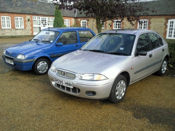 Two old Rovers, and one in the eye for Scrappage...