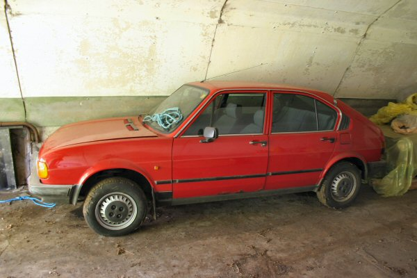 Alfasud: not far from being back on the road?