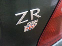 This MG ZR is a little unusual...