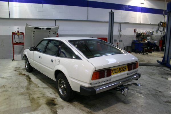 Rover SD1 at MOTest in Farnham...