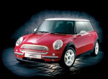 MINI Concept Cooper as shown at the 1997 Franfurt Show