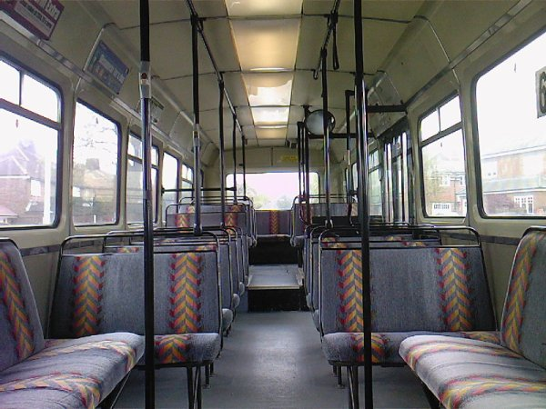 Leyland National Interior