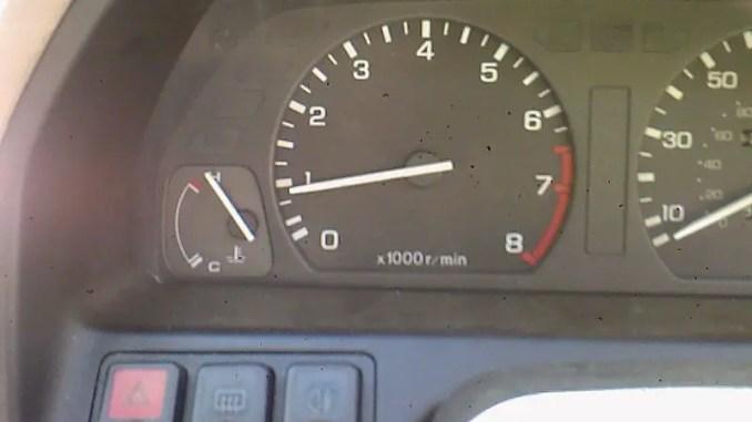 Rover 214 temperature reading - not good!