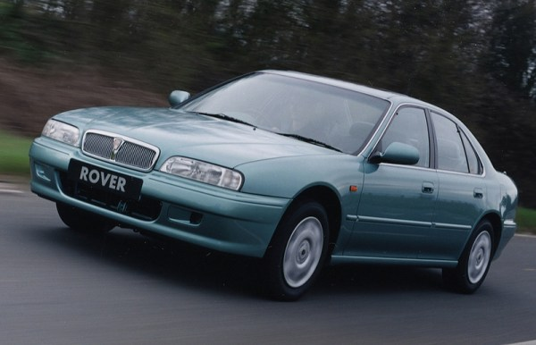 Later 600s received body coloured addenda; a styling trick that should have been employed from the start...