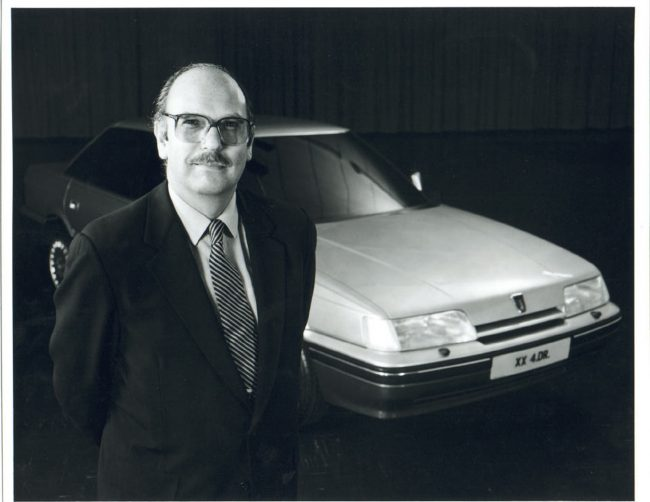 Harold Musgrove interview: Roy Axe and the Rover 800 Sterling - a design he oversaw following his arrival at Austin Rover in 1982.