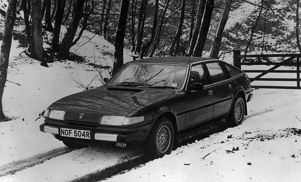 Rover SD1 - car of the year 1977