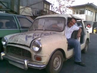 John Reymondos and his amazing Mini Beach Car