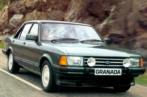 Ford Granada 2.8 Injection: when dinosaurs ruled the earth
