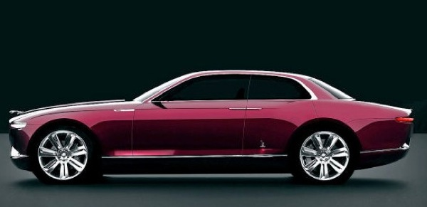 Bertone's Jaguar B99 hints at previous retro
