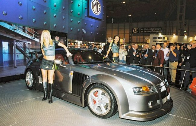 The MG XPower SV in better times