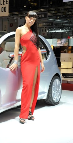 Giugiaro may well bring style to VW. Work needed on that dress, though.