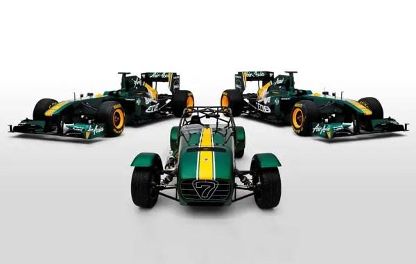 Team Lotus ties up with Caterham