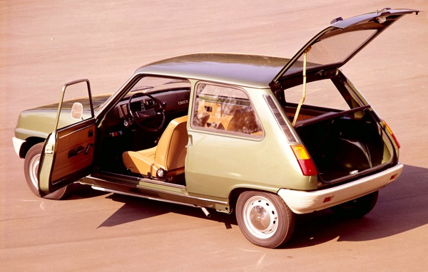 Renault 5 of 1972 - the first modern supermini?