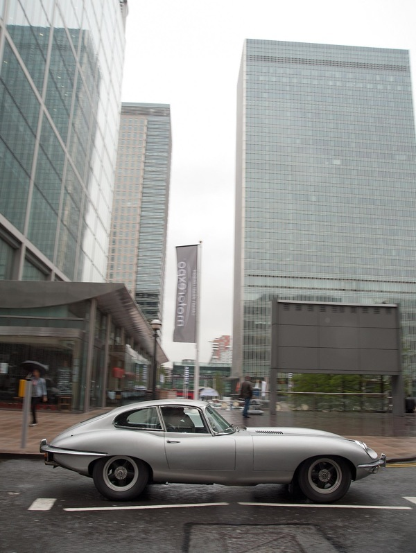 E-types in London