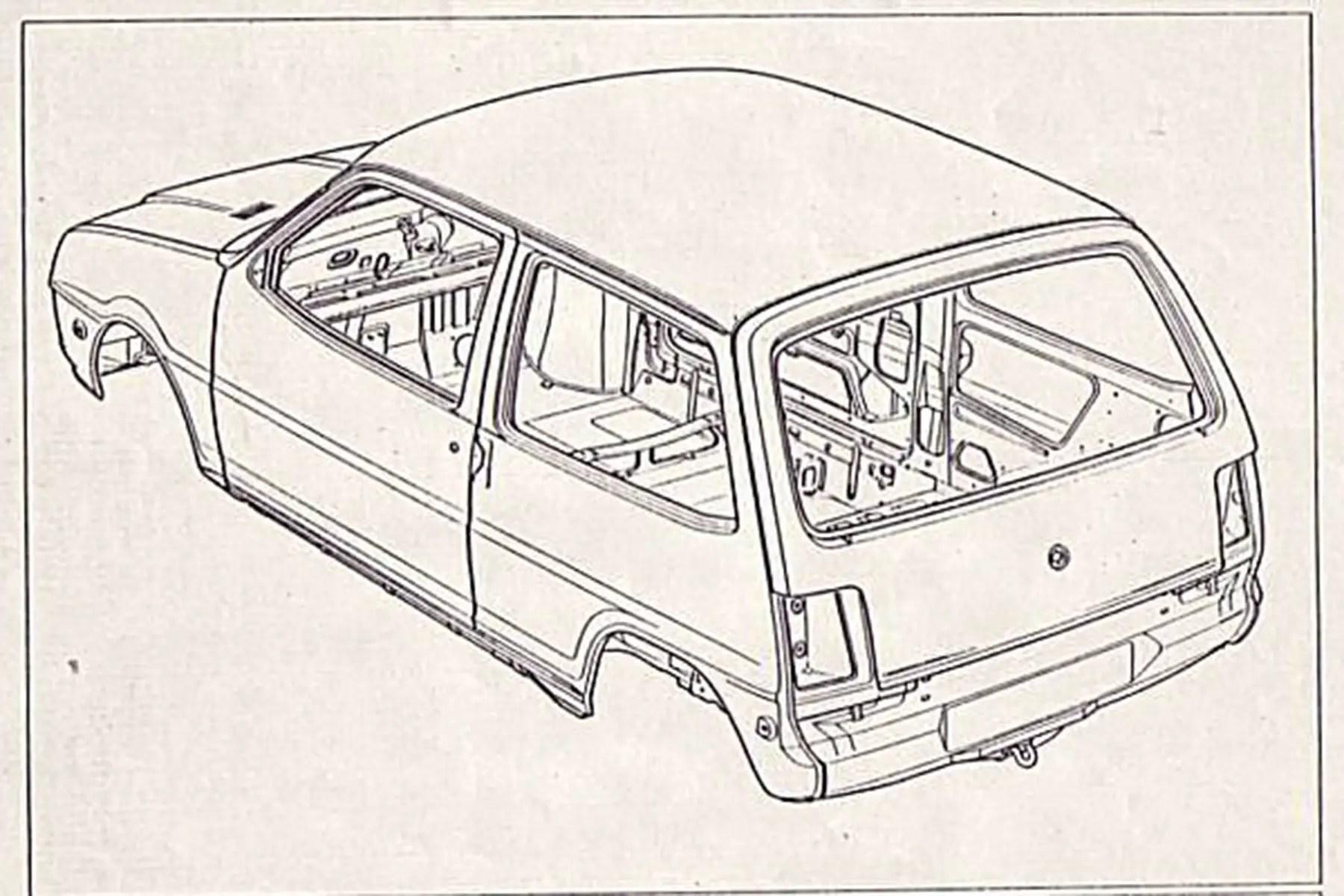 Austin Metro prototype engineering drawings (LC8/ADO88) – a ...