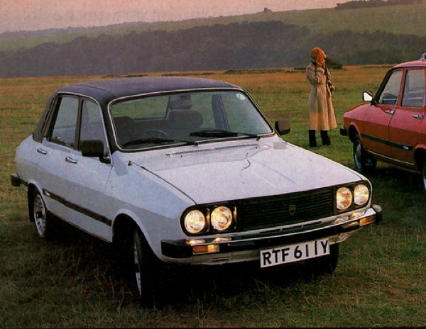 Dacia Denem in the South Downs... may as well be a million miles away from Bucharest.