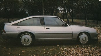 Silver Aero concept was based on the Cavalier Sportshatch, but with far more aggressive styling.