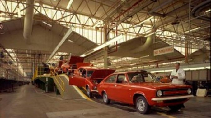 Morris Marina production in Cowley