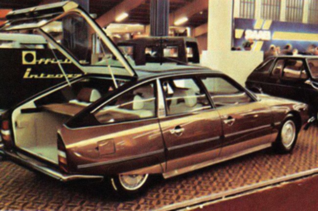 This Caruna converted Citroen CX hatchback shows that BLMC wasn't the only company that ignored the obvious advantage of a hatchback.