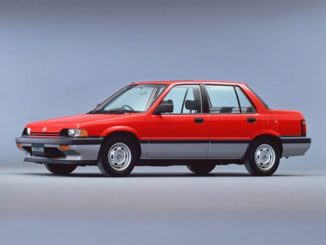 Austin Rover would base its Triumph Acclaim replacement on the 1983 Honda Ballade. There were more sheet metal changes this time around.