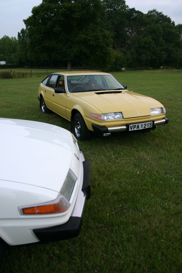 Chris Wood and Keith Adams' Rover SD1s