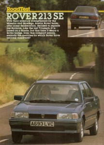 Motor magazine was more scathing about the Rover 200's patchy dynamic abilities