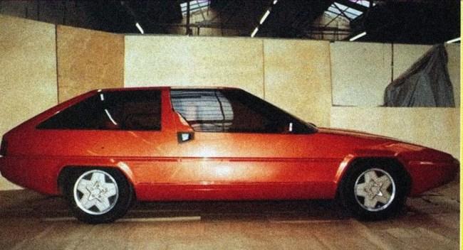 Reliant SE82 prototype