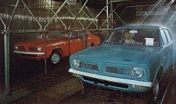 Morris Marina in production