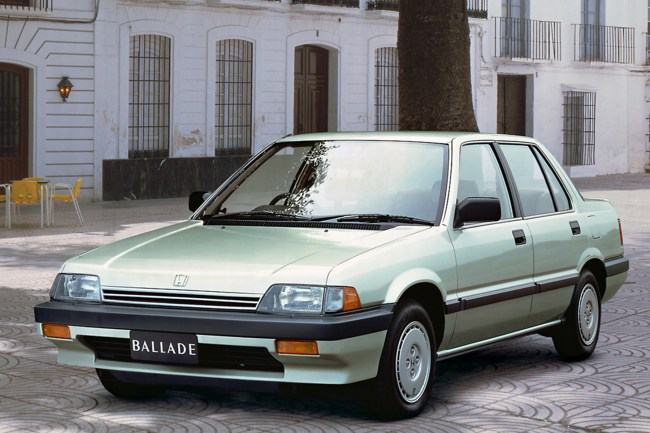 The 1985 Honda Ballade might look strange to European eyes, but it featured some Rover-derived tweaks to its suspension set-up.