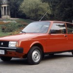Oltcit Club - note the interesting grille badge, which combined a single chevron with an 'O' for Oltena.